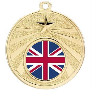 Gold Rise Medal - G540