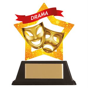 Mini-Star Drama Acrylic Plaque - AC19654