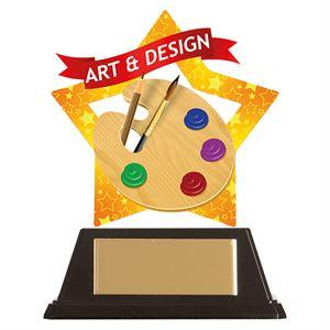 Mini-Star Art & Design Acrylic Plaque - AC19631