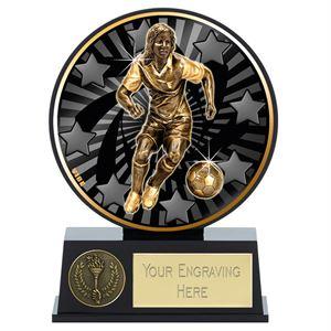 Vibe Mini Female Football Trophy - PK138
