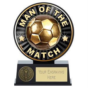 Vibe Mini Man of the Match Football Trophy - PK141