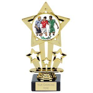 Shooting Stars Footballer Trophy - 564A