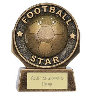 Pocket Peak Football Star Trophy - PK242