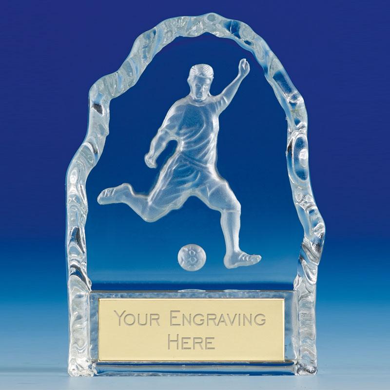 Echo Football Glass Award - KK096