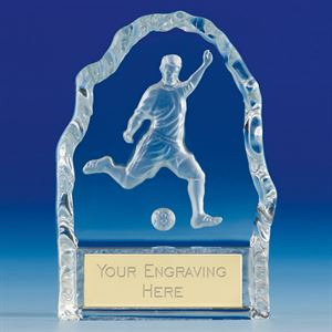 Echo Football Glass Award - KK096