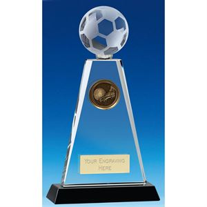 Trio Football Crystal Trophy - KM043