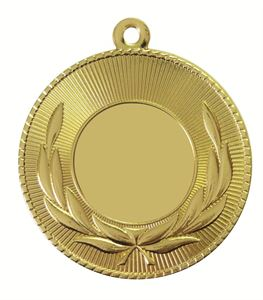 Gold Economy Laurel Wreath Medal (size: 50mm) - 7007