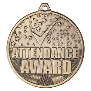 Cascade Attendance Award Medal - MM19040G