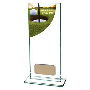 Colour Curve Nearest The Pin Golf Glass Trophy - CR4690