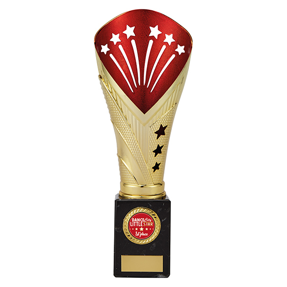 All Stars Large Cup with your Logo - Gold & Red - TR19521D