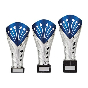 All Stars Large Cup Silver & Blue - TR19520A-C