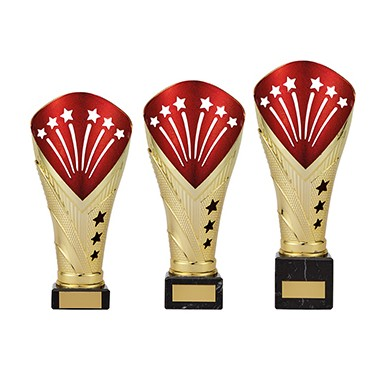 All Stars Large Cup Gold & Red - TR19520A-C