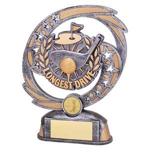 Sonic Boom Longest Drive Golf Trophy - PT19181