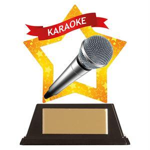 Mini-Star Karaoke Acrylic Plaque - AC19695