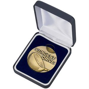 Golf Longest Drive Medal and Box - MG05A