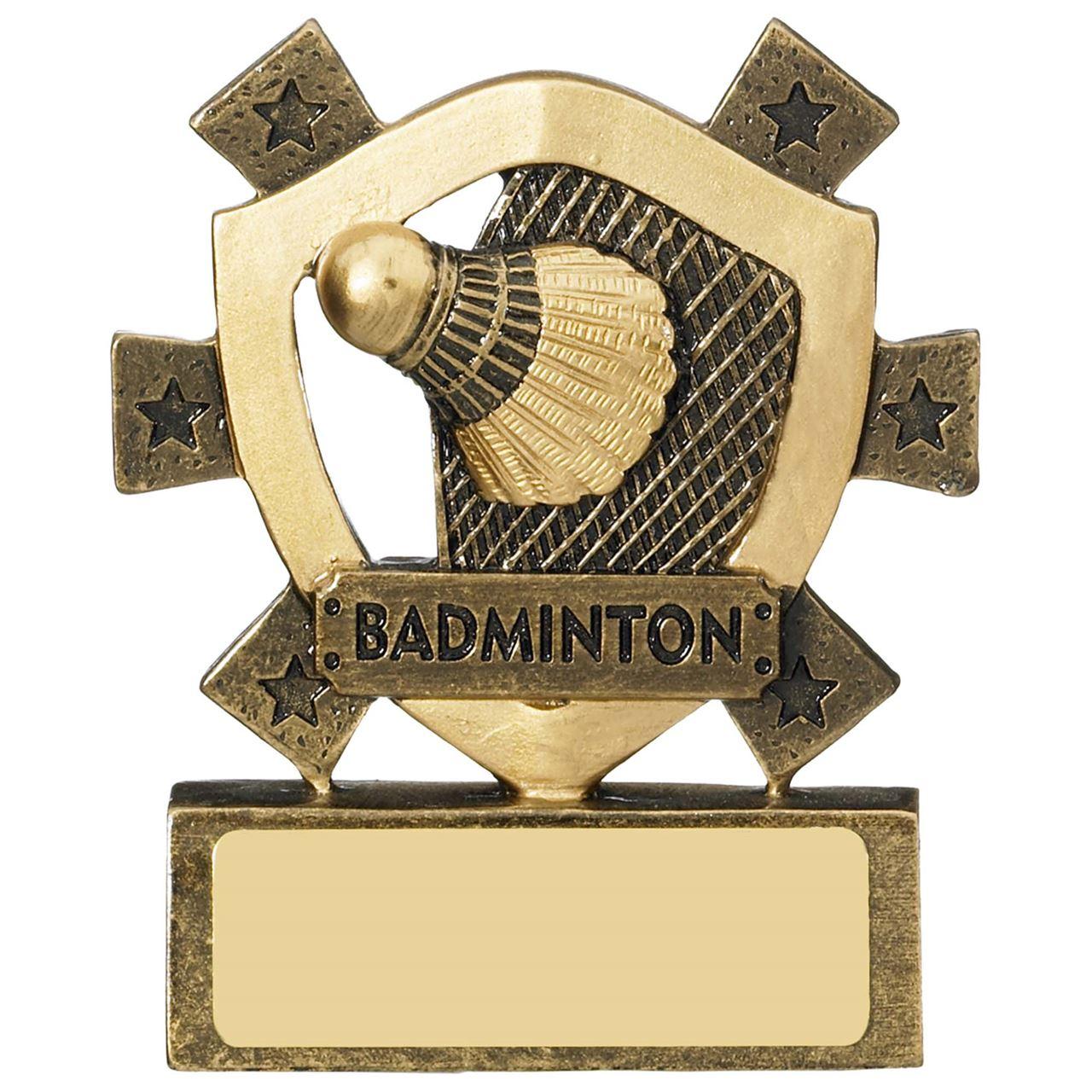 Badminton Mini Shield - RM625