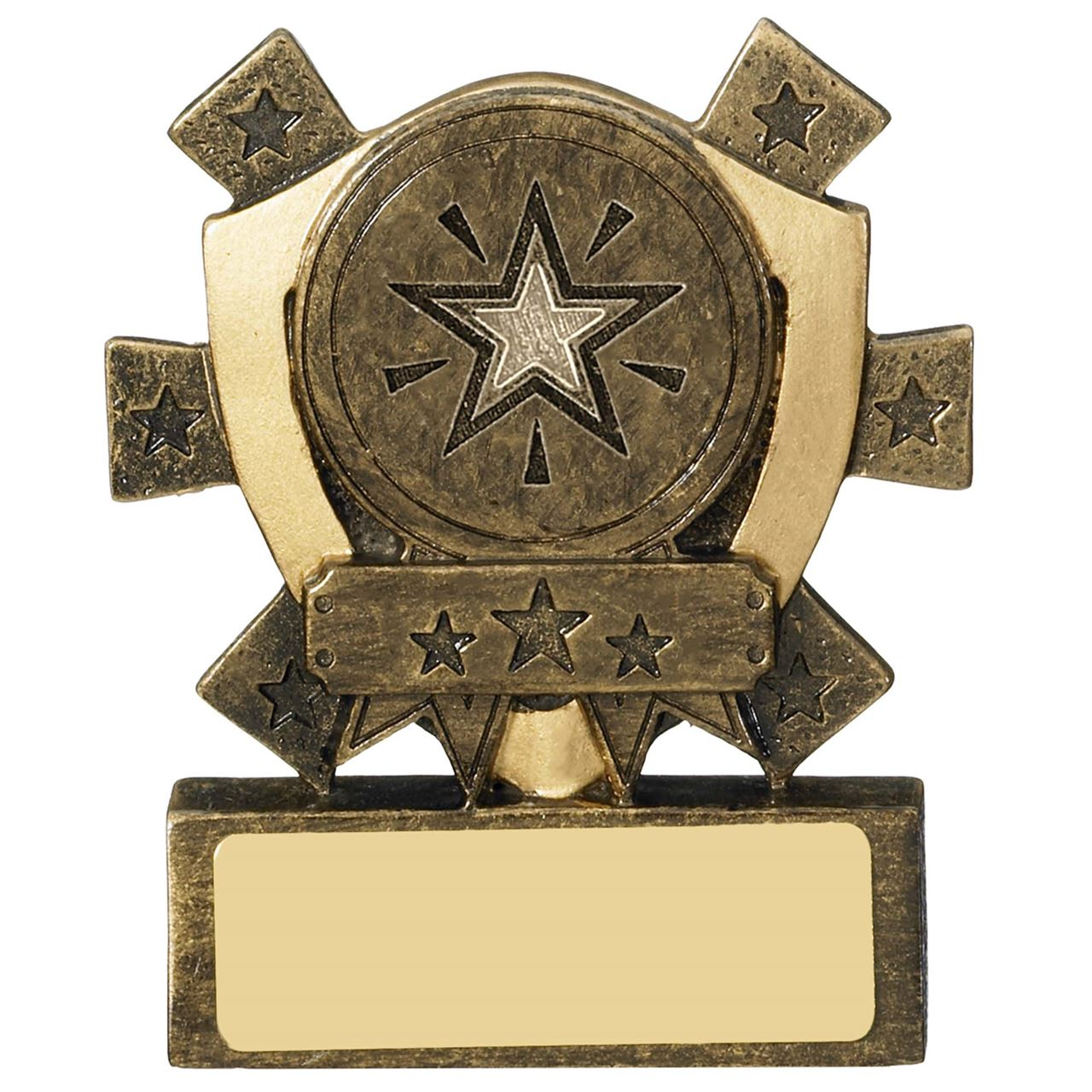 Mini Shield Star Logo Centre Holder - RM980