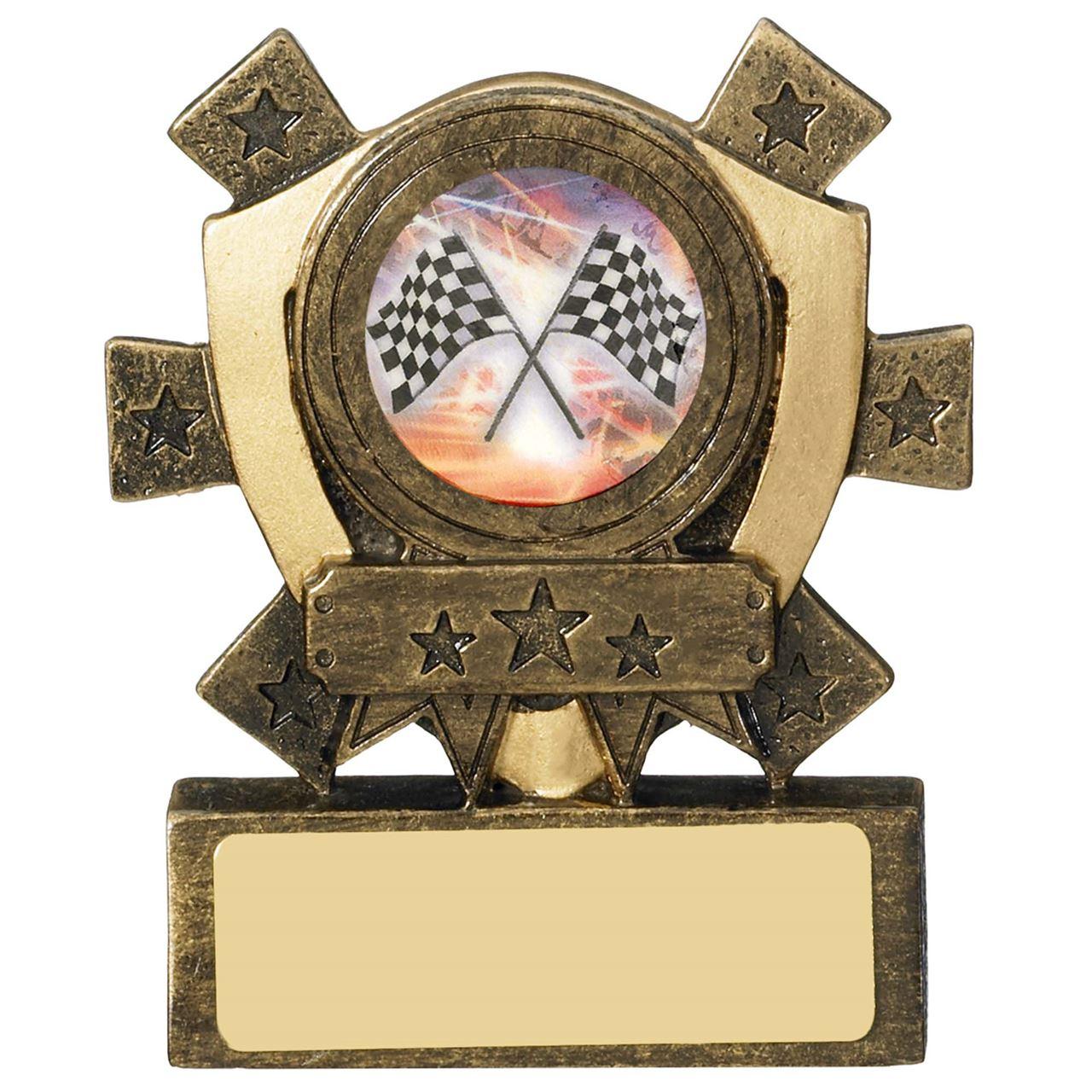 Mini Shield Star Logo Centre Holder - RM980 with logo