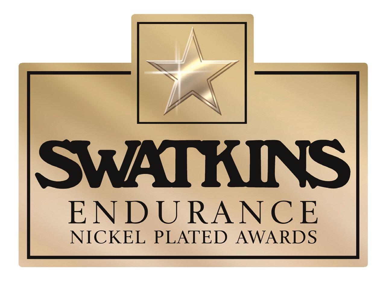 Swatkins Endurance Nickel Plated Awards