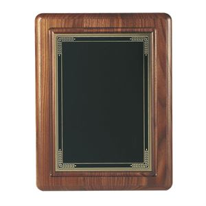 Traditional American Walnut Plaque - WP01