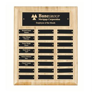 Bamboo Perpetual Plaque (24 winners) - WP12