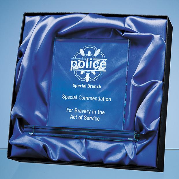 Satin lined presentation box
