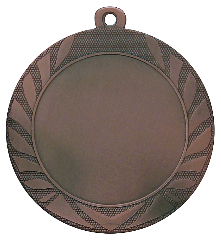 Pack of 500 Caesar Medals with Ribbons & Logo Inserts (70mm) - M9313.26/SET500 Bronze