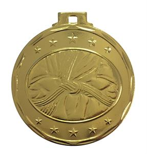 Budget Martial Arts Medal Gold - 7908