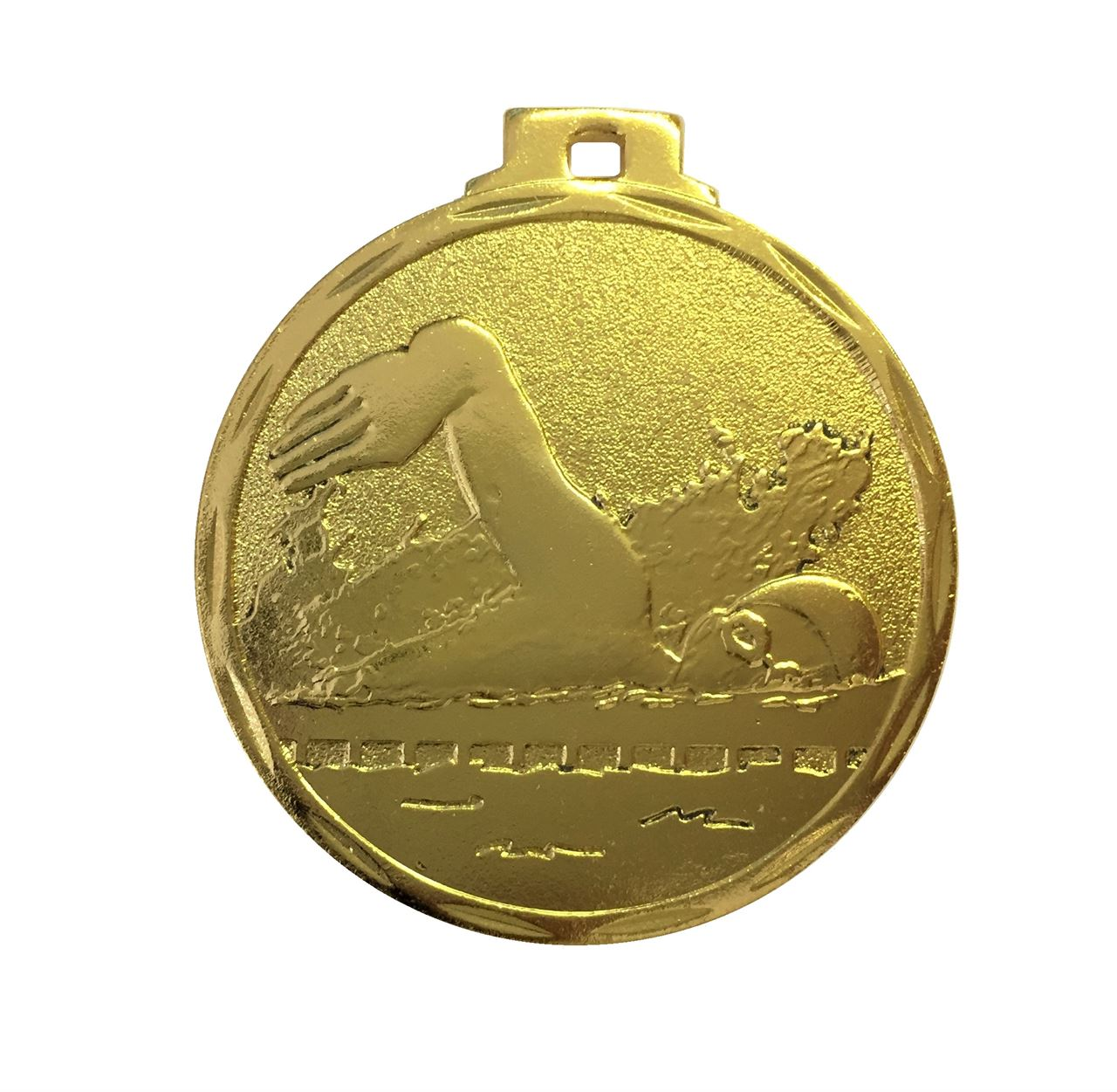 Budget Swimming Medal Gold - 7907
