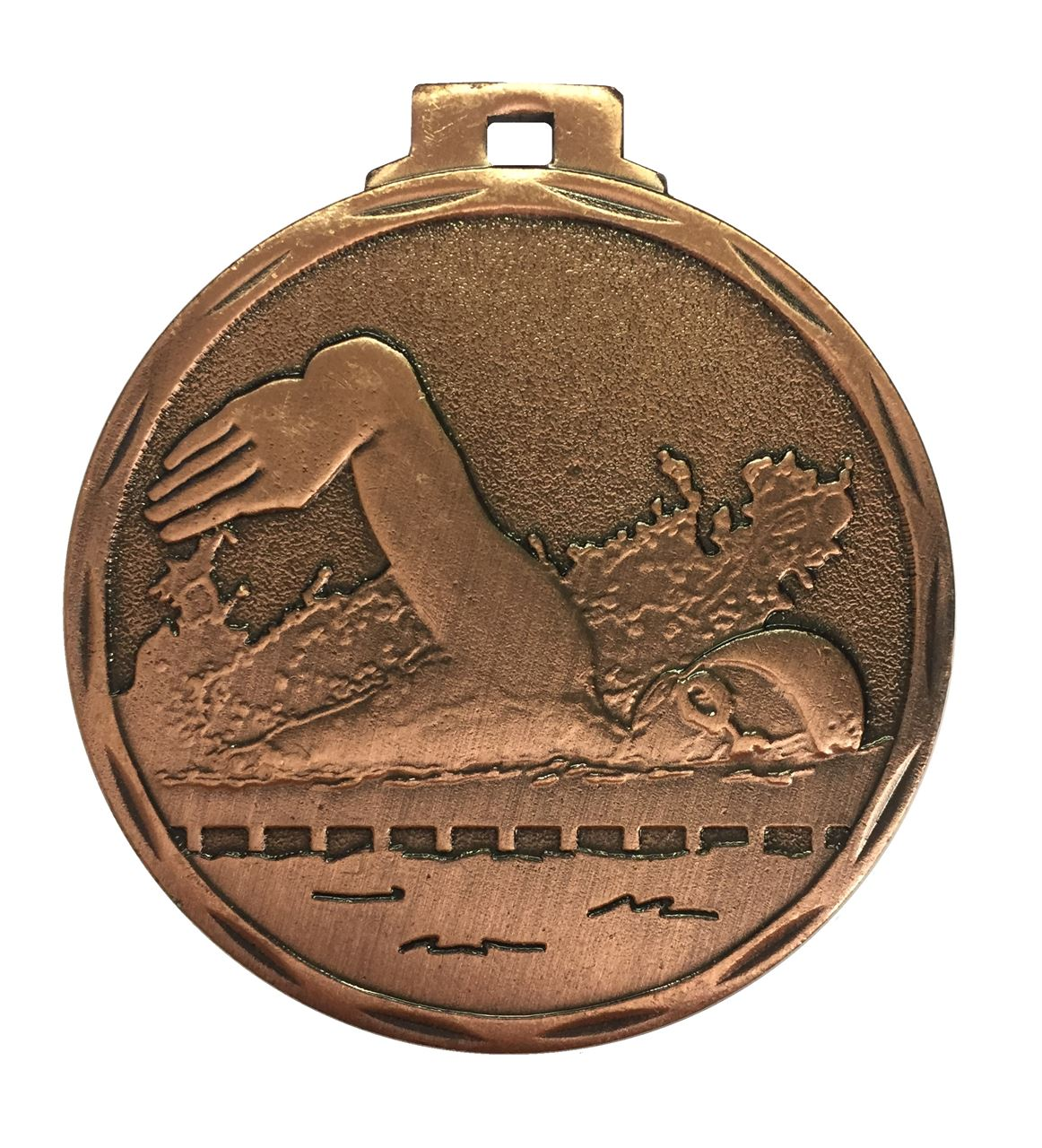 Budget Swimming Medal Copper - 7907