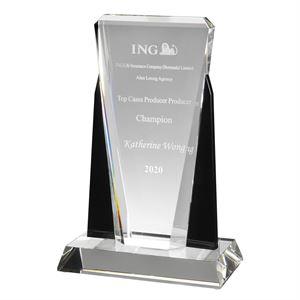 Tristan Clear & Black Crystal Award - AC76