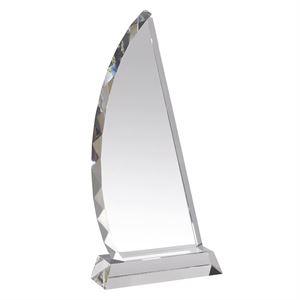 Soar Fine Clear Crystal Award - AC39