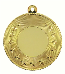 Gold Economy Star Medal (size: 50mm) - 7006
