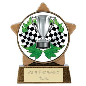 Mini Star Full Colour Motorsport Trophy - A1899-MS