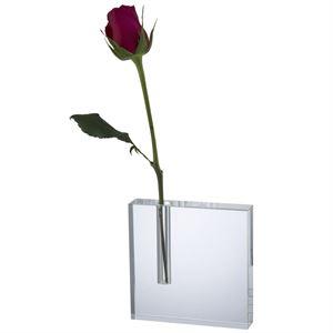 Fine Crystal Flower Holder - YC006