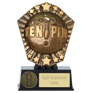 Cosmos Mini Ten-Pin Trophy - PK173