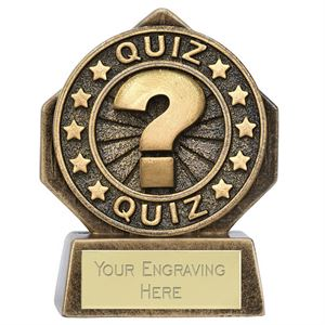 Pocket Peak Quiz Trophy - PK180