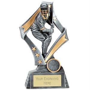 Flag Cricket Batsman Trophy - A4087