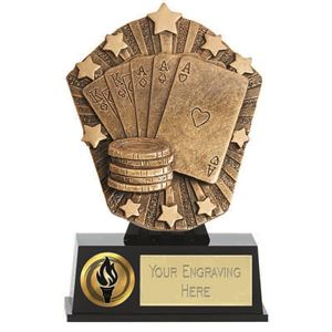 Cosmos Mini Poker Trophy - PK246