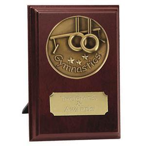 Vision Gymnastics Plaque Award - W278-G