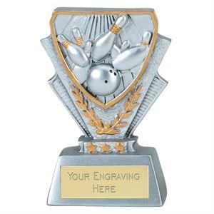 Ten Pin Bowling Mini Cup Trophy - A4118