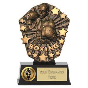 Cosmos Mini Boxing Trophy - PK187
