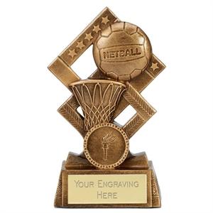 Cube Netball Trophy - A4142