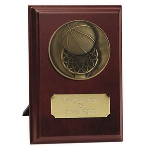 Vision Basketball Plaque Award - W278-B