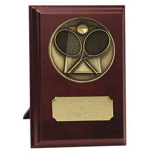 Vision Tennis Plaque Award - W278-T