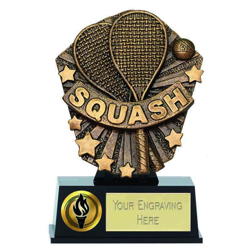 Cosmos Mini Squash Trophy - PK192