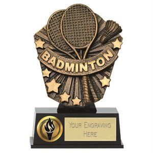Cosmos Mini Badminton Trophy - PK219