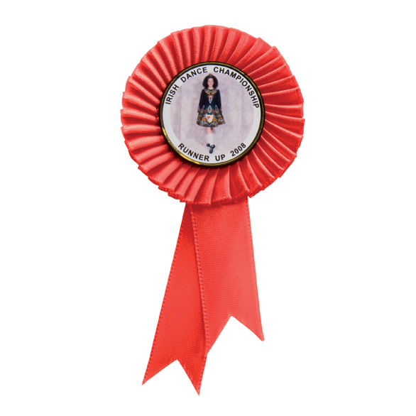 Tribute Red Mini Rosette - RO8173