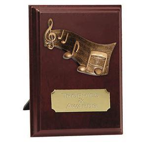 Peak Music Plaque Award - W279-M