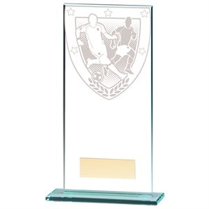Millennium Football Jade Glass Award - CR20378E